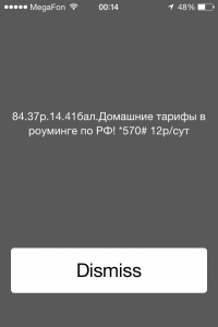 iPhone 4S USSD