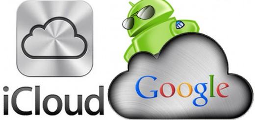 iCloud vs Google Apps